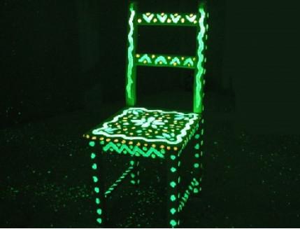 Краска светящаяся AcmeLight для дерева зеленая - изображение 3 - интернет-магазин tricolor.com.ua