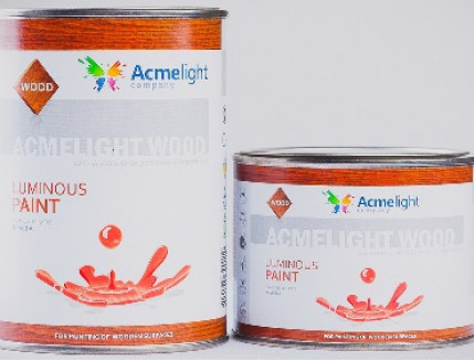 Краска светящаяся AcmeLight для дерева зеленая - изображение 4 - интернет-магазин tricolor.com.ua