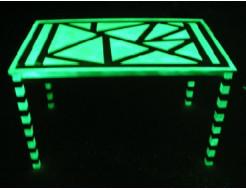 Краска светящаяся AcmeLight для дерева зеленая - интернет-магазин tricolor.com.ua