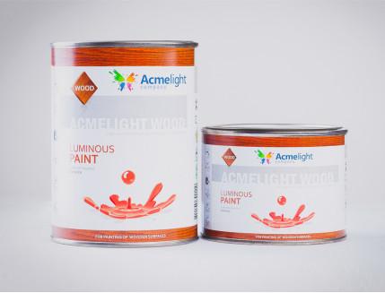 Краска светящаяся AcmeLight для дерева классик - изображение 2 - интернет-магазин tricolor.com.ua