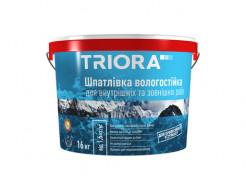 Шпатлевка влагостойкая Triora для внутренних и наружных работ