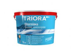 Шпатлевка финишная тонкослойная Triora для внутренних работ