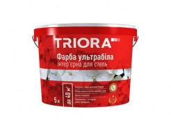Краска интерьерная Triora матовая ультрабелая для потолков