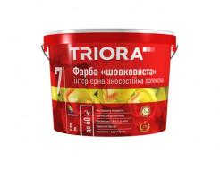 Краска интерьерная шелковистая износостойкая латексная Triora