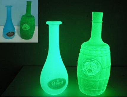 Краска люминесцентная AcmeLight для стекла зеленая (обжиговая) - изображение 3 - интернет-магазин tricolor.com.ua