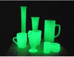 Купить Краска светящаяся AcmeLight для стекла зеленая (обжиговая) - 1