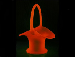 Купить Краска светящаяся AcmeLight для стекла оранжевая (обжиговая)