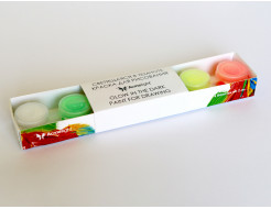 Набор люминесцентных красок для творчества AcmeLight 6x2 мл - интернет-магазин tricolor.com.ua