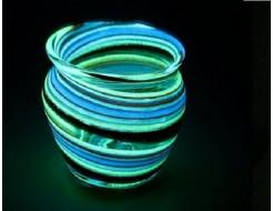 Краска люминесцентная AcmeLight для стекла синяя (обжиговая)