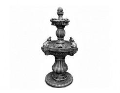 Форма декора Фонтан с лягушками Стеклопластик и силикон BF 5 деталей