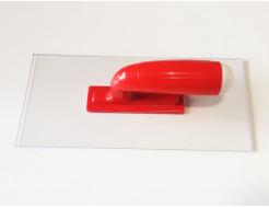 Гладилка (терка) для жидких обоев Юрски пластиковая прозрачная 13,6х27,7 мм