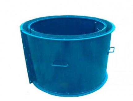 Форма кольца колодезного №2 BF стенка 4 мм профильная труба 40х40 H-89 D-60/74 - изображение 3 - интернет-магазин tricolor.com.ua