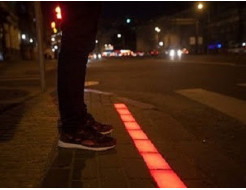 Краска люминесцентная AcmeLight для бетона красная