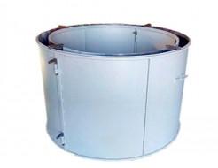 Форма кольца колодезного КС-800-4 BF стенка 4 мм профильная труба 40х40 H-89 D-80/94