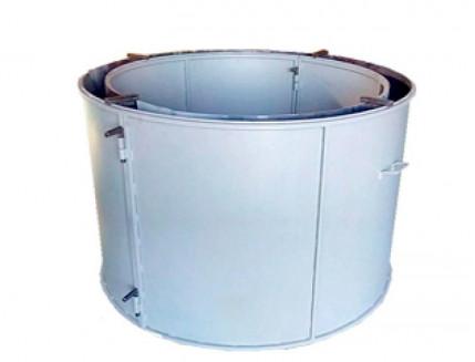 Форма кольца колодезного №4 BF стенка 4 мм профильная труба 40х40 H-89 D-80/94 - интернет-магазин tricolor.com.ua