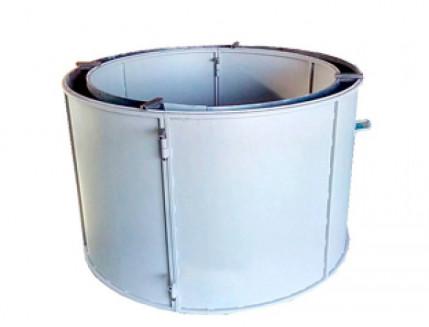 Форма кольца колодезного №5 BF стенка 4 мм профильная труба 40х40 H-89 D-100/118 - интернет-магазин tricolor.com.ua