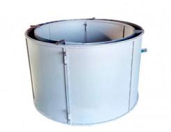 Форма кольца колодезного КС-1200-2 BF стенка 2 мм профильная труба 20х20 H-89 D-120/138