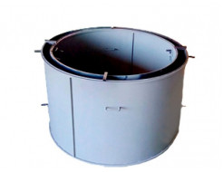 Форма кольца колодезного №7 BF стенка 2 мм профильная труба 20х20 H-89 D-150/170