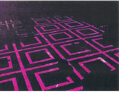 Краска люминесцентная AcmeLight для бетона розовая - интернет-магазин tricolor.com.ua