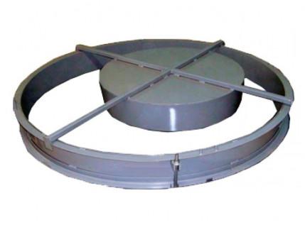Форма крышки и дна бетонных колец BF D-70-80