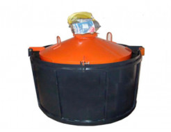 Форма для бетонных колец ФС-700 с ИВ-99 1 шт BF H-89 D-70/86 стенка 8 см виброформа