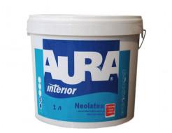 Краска интерьерная Aura Neolatex износостойкая глубокоматовая белая