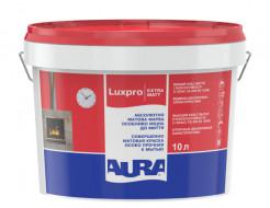 Краска акрилатная матовая моющаяся интерьерная Aura Luxpro ExtraMatt TR прозрачная