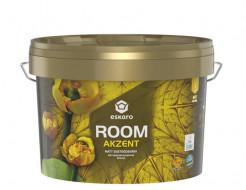 Краска интерьерная акриловая Eskaro Akzent Room матовая белая - интернет-магазин tricolor.com.ua