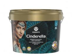 Краска акриловая для стен Eskaro Cinderella стойкая к загрязнениям матовая белая