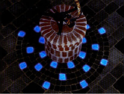 Краска люминесцентная AcmeLight для бетона синяя - интернет-магазин tricolor.com.ua