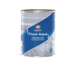 Краска акриловая Eskaro Floor Aqua для бетонного и деревянного пола белая