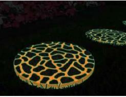 Краска люминесцентная AcmeLight для бетона оранжевая