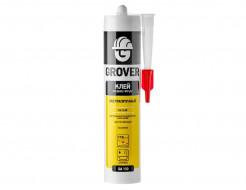 Монтажный клей акриловый Grover GA110 жидкие гвозди экстрапрочный белый