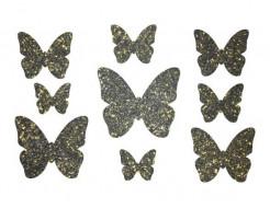 Декор из жидких обоев Bioplast Бабочки №1 - 9 элементов