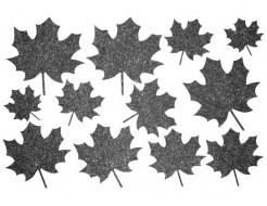 Декор из жидких обоев Bioplast Листья №4 - 12 элементов