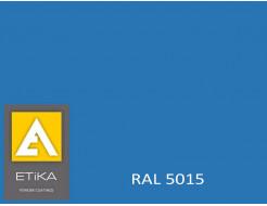 Краска порошковая полиэфирная Etika Синяя RAL 5015 глянцевая
