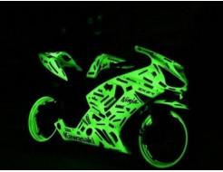 Краска люминесцентная AcmeLight для металла (2К) желтая - интернет-магазин tricolor.com.ua