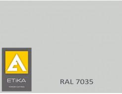 Краска порошковая полиэфирная Etika Светло-серая RAL 7035 матовая