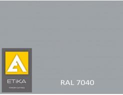 Краска порошковая полиэфирная Etika Серая RAL 7040 матовая
