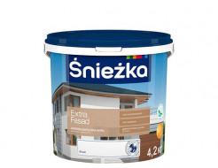 Краска акриловая Sniezka Extra Fasad белая матовая