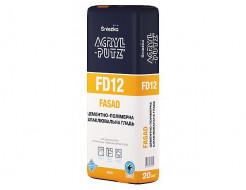 Шпаклевка фасадная цементно-полимерная Sniezka Acryl Putz FD12 белая