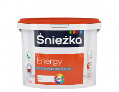 Краска латексная интерьерная Sniezka Energy матовая белая