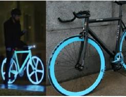 Краска люминесцентная AcmeLight для металла (2К) классик голубой