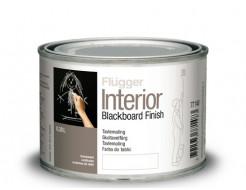 Интерьерная акриловая грифельная краска Flugger Interior Blackboard Finish черная матовая - интернет-магазин tricolor.com.ua