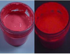 Краска люминесцентная AcmeLight для пластика (2К) красная - интернет-магазин tricolor.com.ua