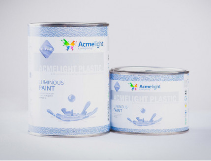 Краска люминесцентная AcmeLight для пластика (2К) розовая - изображение 2 - интернет-магазин tricolor.com.ua