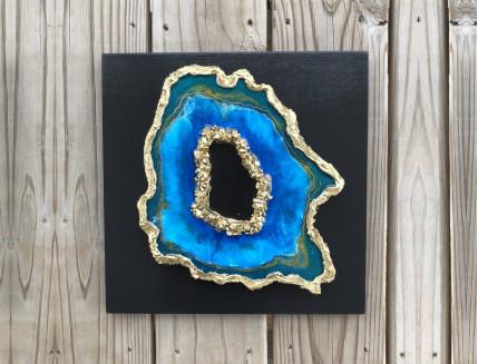 Эпоксидная смола Crystal Art Resin 2 для картин и покрытия - интернет-магазин tricolor.com.ua