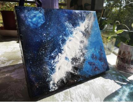 Эпоксидная смола Crystal Art Resin 2 для картин и покрытия - изображение 2 - интернет-магазин tricolor.com.ua