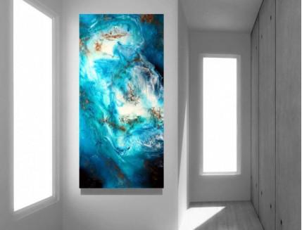 Эпоксидная смола Crystal Art Resin 2 для картин и покрытия - изображение 4 - интернет-магазин tricolor.com.ua