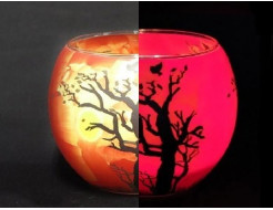Купить Краска светящаяся AcmeLight для стекла (2К) красная